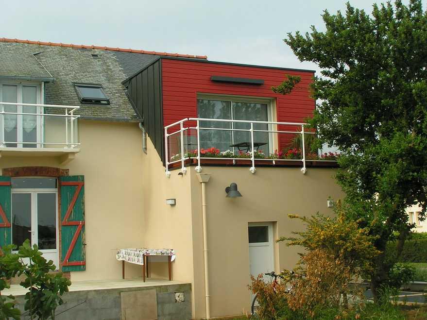 extension/renovation maison bord de mer hillion