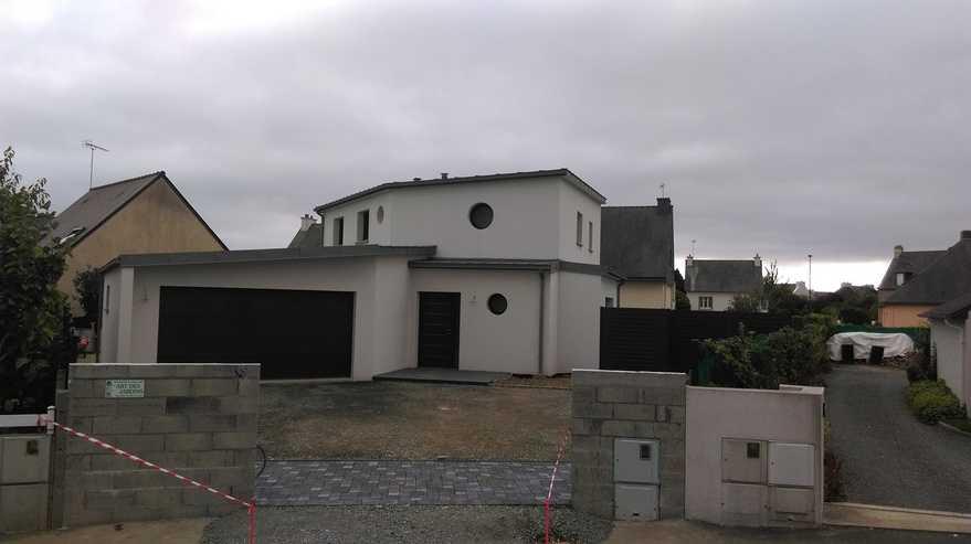 realisation maison contemporaine - ploufragan