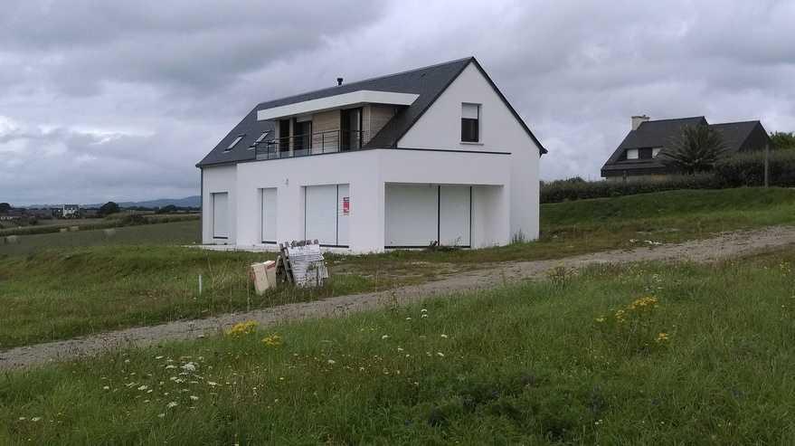 construction maison neuve trezmalaouen (sud finistere)