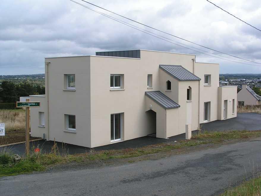 construction d un immeuble de 6 appartements - yffiniac