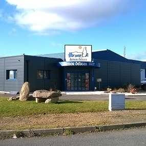 extension pour creation d un magasin d usine de production de biscuit