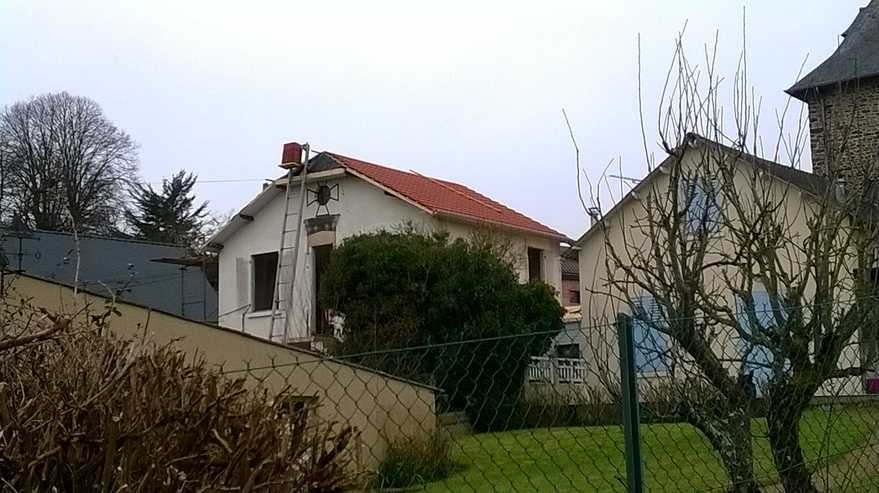 renovation en cours d une maison typique des quartiers haut de binic