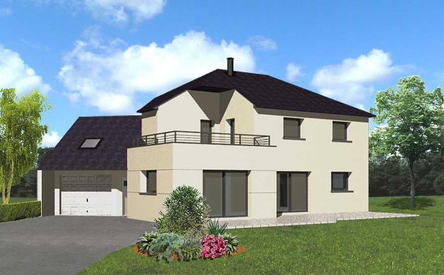 maison avec terrasse accessible a l etage