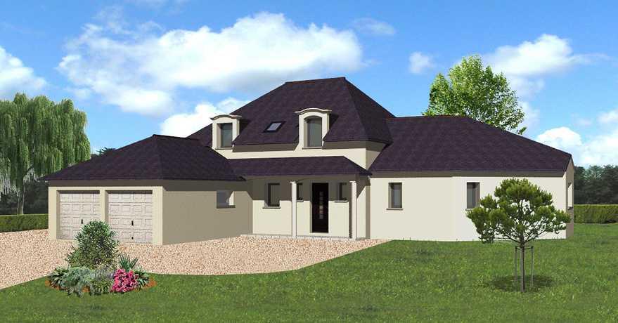 maison avec double garage