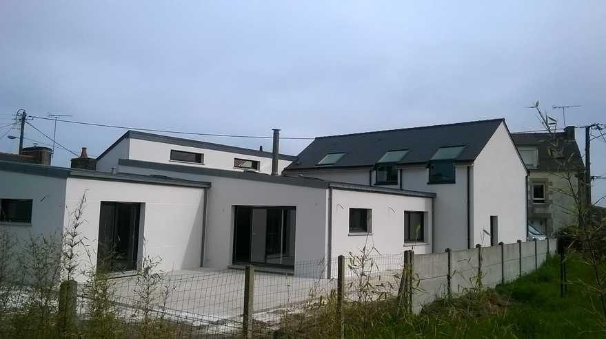 maison contemporaine - pordic lieu dit la ville louais.