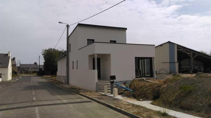 maison contemporaine - saint rene hillion