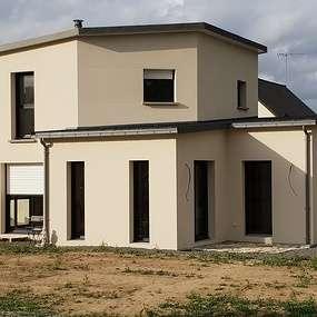 construction maison contemporaine - secteur de lamballe