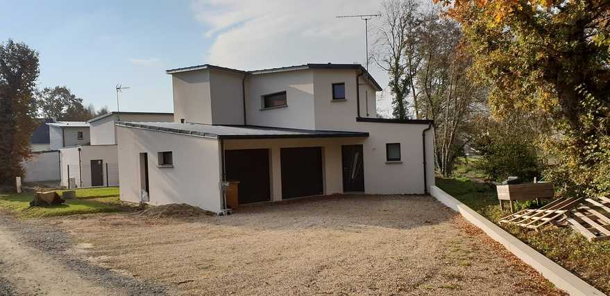 maison contemporaine - saint-rene - hillion (22 - cotes darmor)