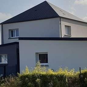extension maison contemporaine- hillion (cotes d armor)