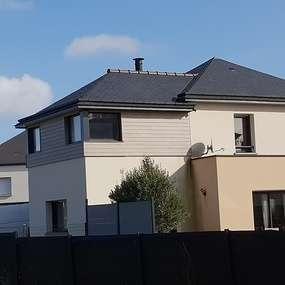 sur-elevation ossature bois sur maison contemporaine - hillion (22)
