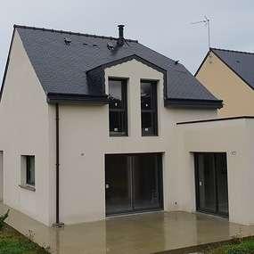 construction maison contemporaine - hillion -22